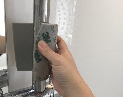 スポンジ研磨材は曲面磨きに最適