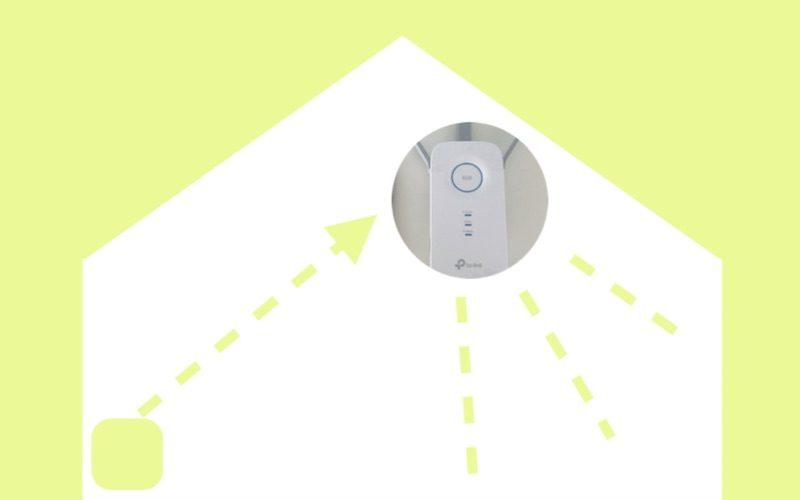 Wi-Fiが届かないを解決!NURO光で使えるおすすめWi-Fi中継器 TP-Link RE450
