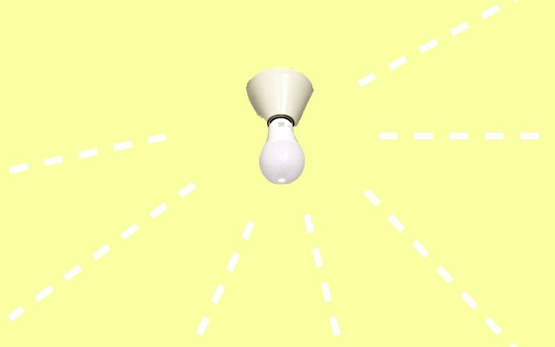 【1000円以下!】掃除がラクになるオススメのシンプル照明